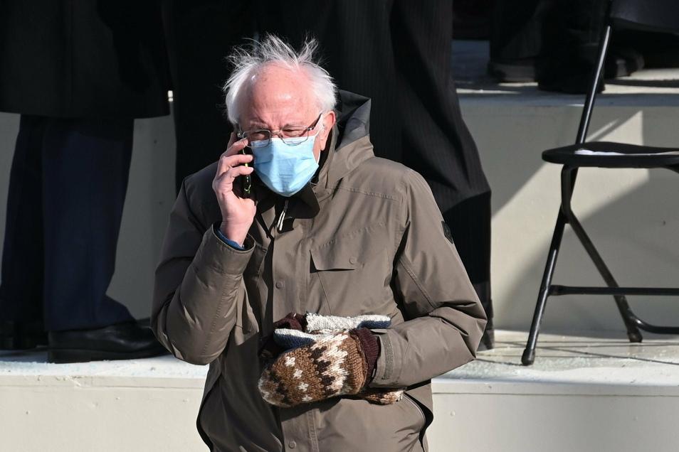 Dieses Outfit von Bernie Sanders ging um die Welt.