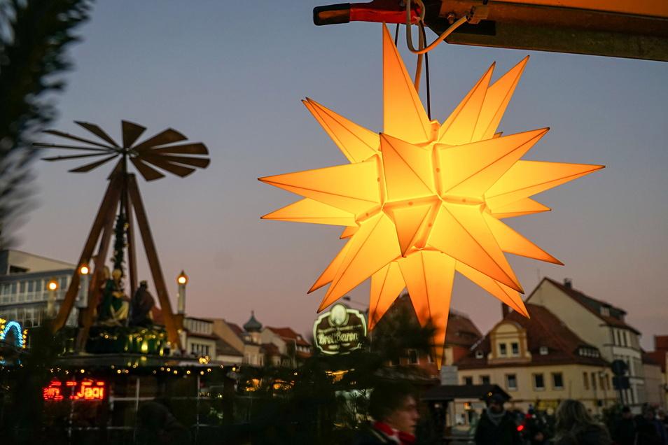 Im vergangenen Jahr musste der Wenzelsmarkt in Bautzen coronabedingt ausfallen. Diesmal soll er aber stattfinden.
