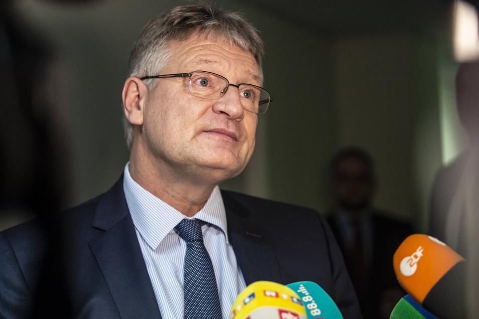 Glaubt die Mehrheit hinter sich zu haben: AfD-Parteichef Jörg Meuthen.
