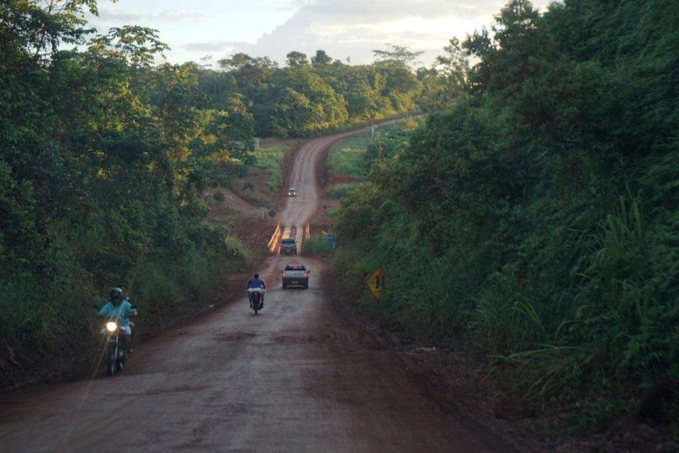 Transportwege im Dschungel.