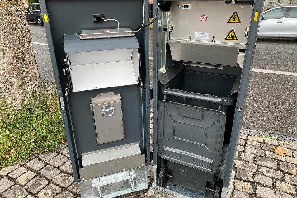 Der Sound dieser neuen Mülleimer in Trier kommt offenbar gut an.