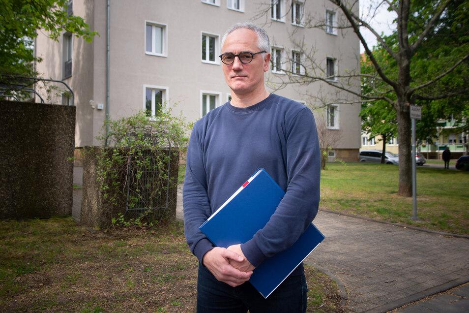 Jörg Sager streitet sich mit seinem Vermieter Vonovia, der die Wohnlage falsch eingeordnet hat. Warum man den Fehler nicht korrigiert.