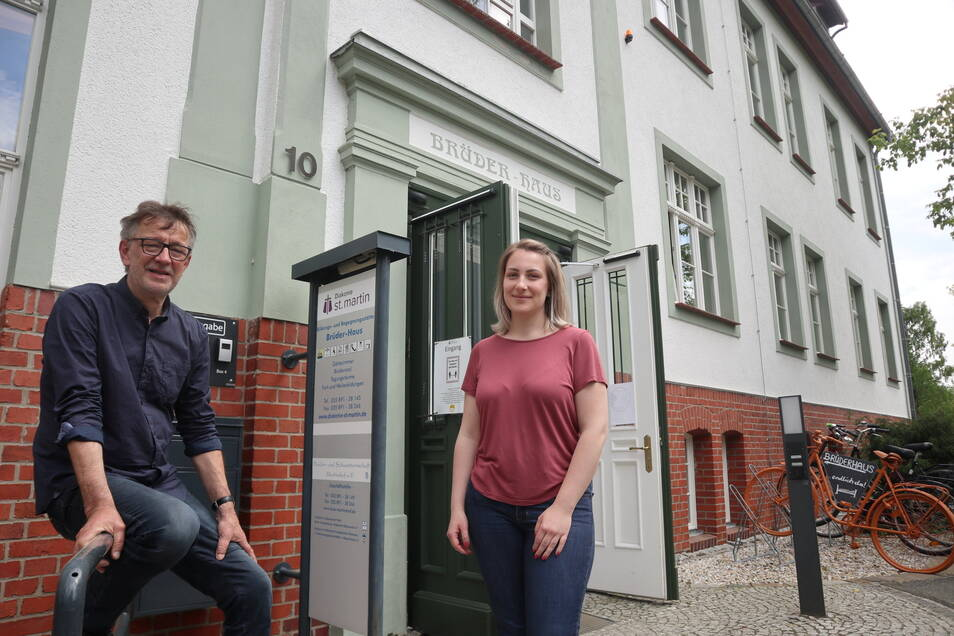 Ansprechpartner vor Ort sind Laura Hirche und Andreas Drese.