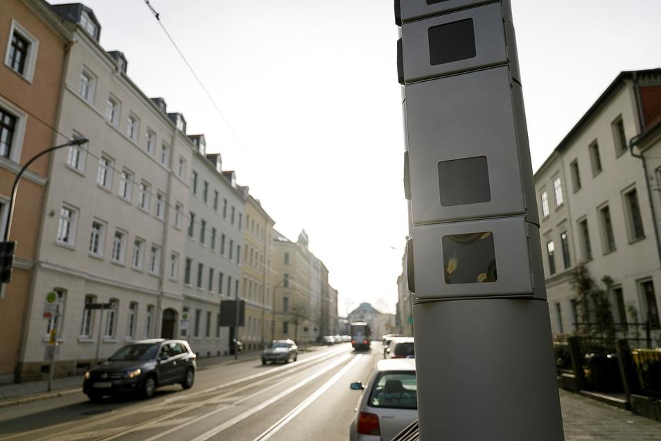 In Görlitz stehen diese Säulen mit Kameras zur Gesichtserkennung, im Landkreis Bautzen gibt es sie bisher noch nicht.