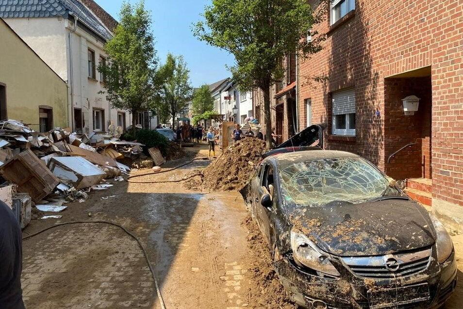 Die Gemeinde Swisttal nach der Hochwasserkatastrophe: Schäden im zweistelligen Millionenbereich.