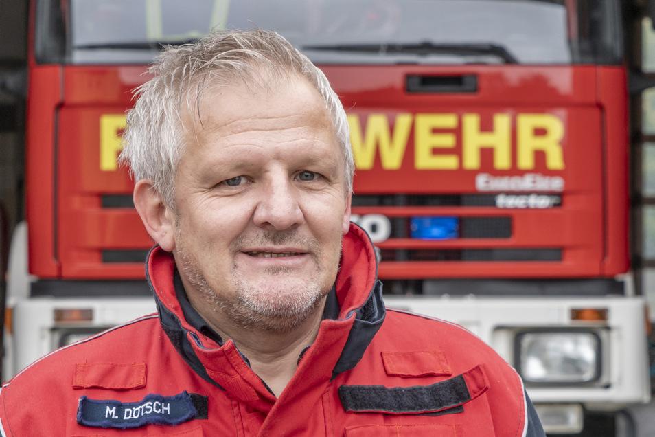 Michael Dötsch ist der Kommandant der Freiwilligen Feuerwehr Heinersreuth. Neben ihrem Faible für die Feuerwehr verbindet Dötsch und Schmaler auch eine persönliche Freundschaft. Heinersreuth und Schwarzkollm pflegen seit vielen Jahren eine Partnerschaft.