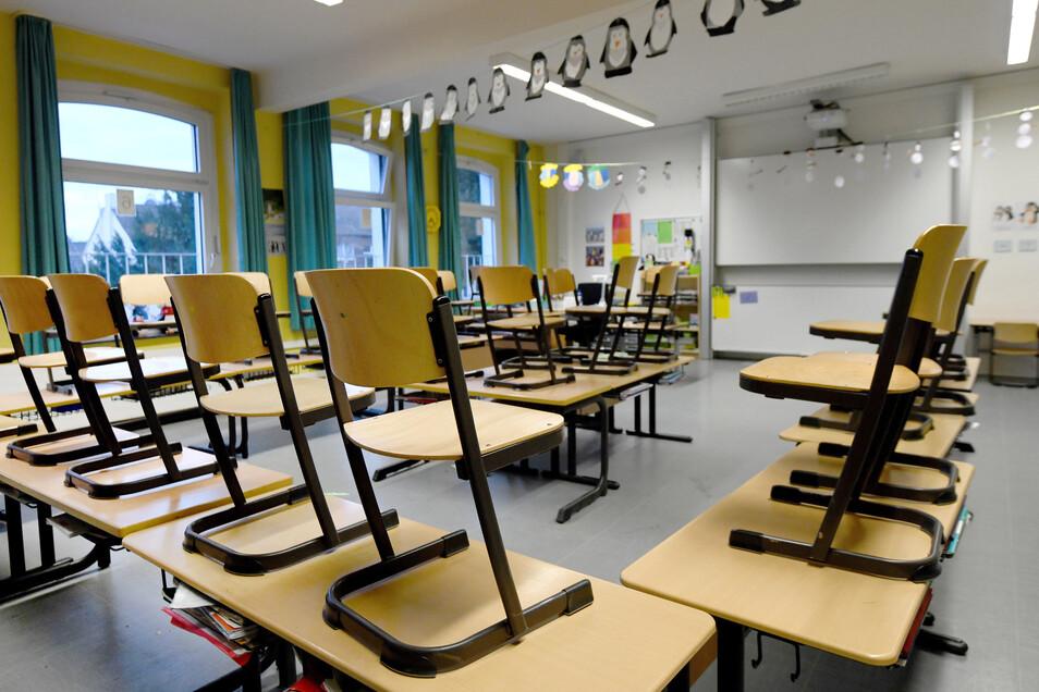 Sachsen stellt den Schulbetrieb ein.
