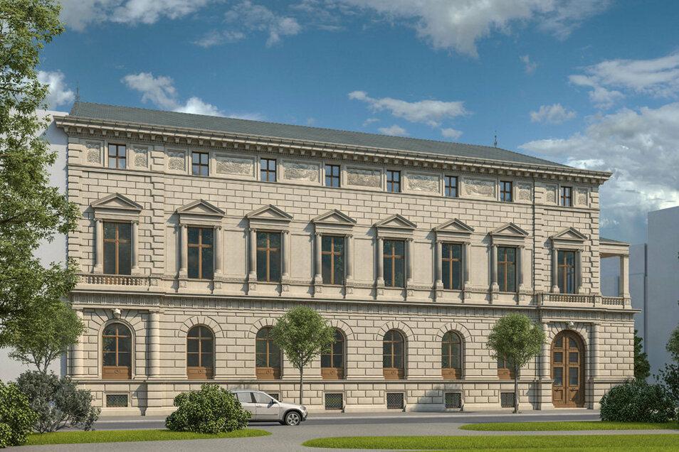 Das Palais Oppenheim wurde von Andreas Hummel mit seinem Büro Arte4D visualisiert.