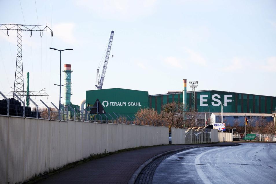 Bei Feralpi in Riesa ruht bis Ende Januar 2021 die Produktion. Grund sind Wartungs- und Reparaturarbeiten.