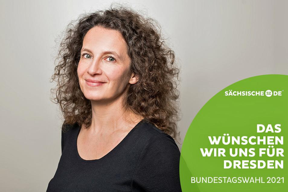 Sandra Kurzmann leitet eine Kita in Dresden. Sie beobachtet, dass einige Verkehrsteilnehmer an Schulen und Kindergärten keine Rücksicht nehmen.
