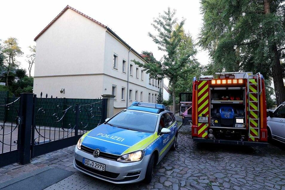 Die Polizei und die Feuerwehr waren im Einsatz.