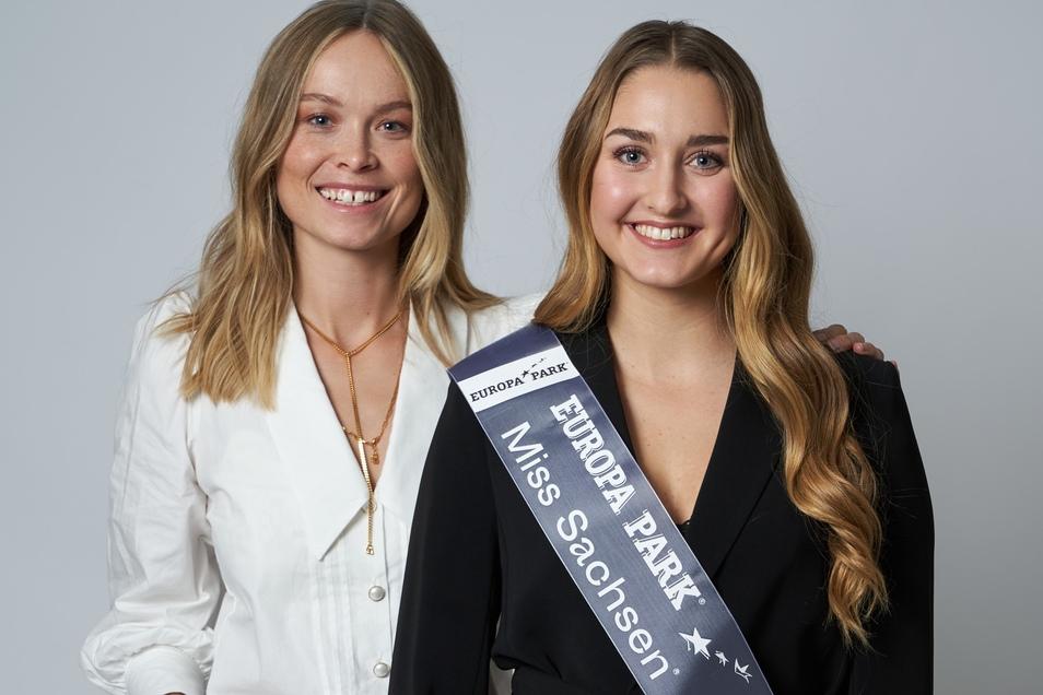 Nadine Voigt (rechts) mit Miss Germany 2019, Nadine Berneis.