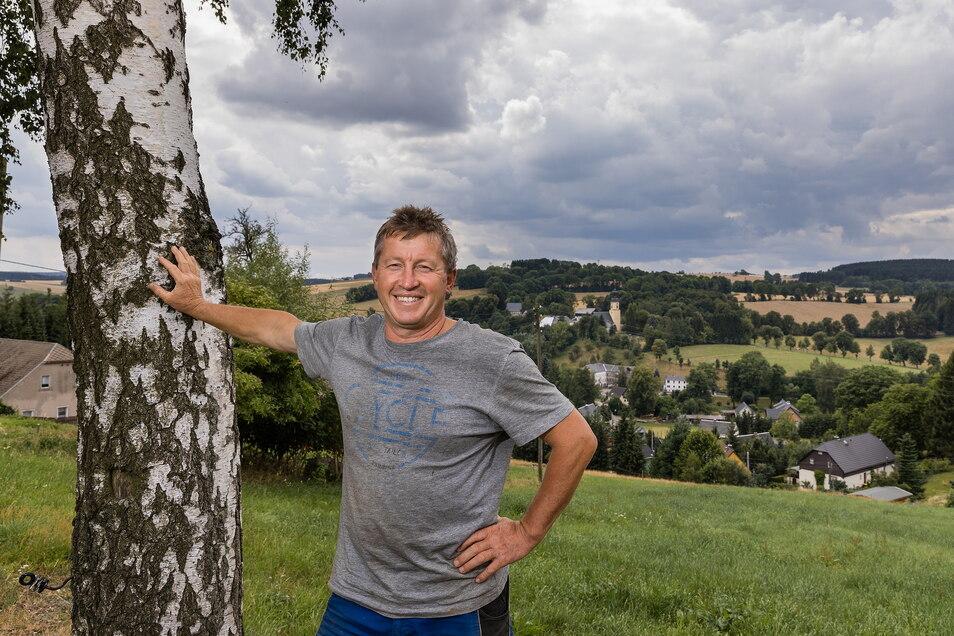 Bürgermeister von Dorfchemnitz ist Thomas Schurig.