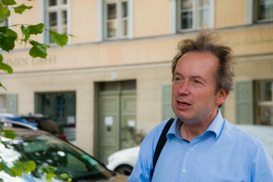 Michael Zajonz ist Kulturhistoriker, begleitet die Stadtentwicklung der einstigen preußischen Residenz.