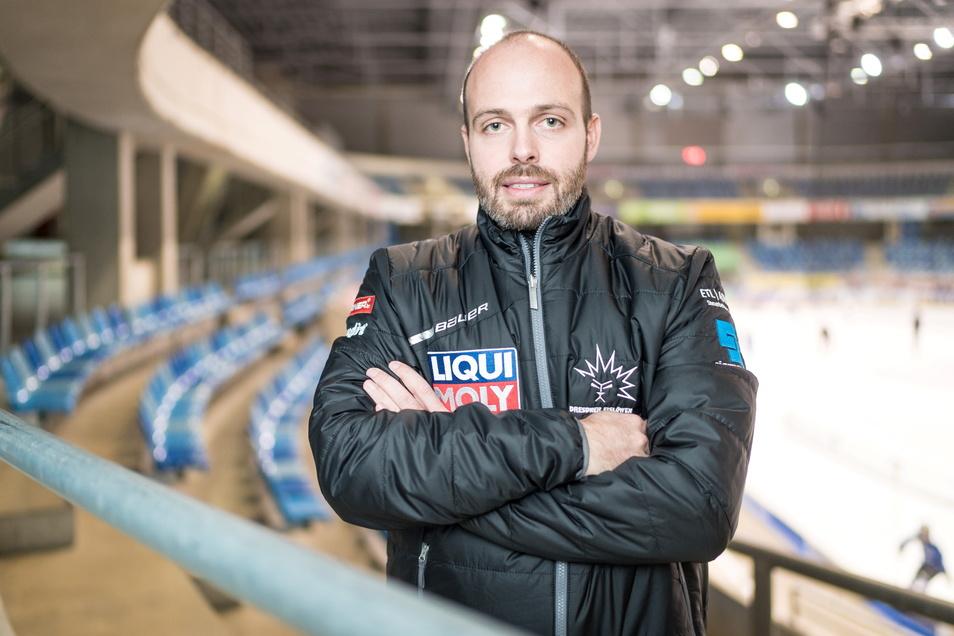 Sieht die Eislöwen bei der Suche nach einem neuen Hauptsponsor auf einem guten Weg: Geschäftsführer Maik Walsdorf.