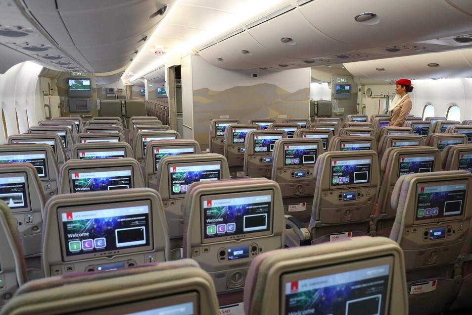 Wie hoch ist die Gefahr, sich in einer Flugzeug-Kabine mit Viren anzustecken?