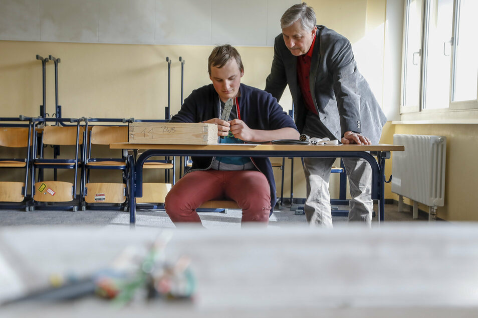 Grüne Berufe haben im Löbauer Berufsschulzentrum von jeher Tradition. Sie könnten genauso wie der Hochbau künftig gestärkt werden.