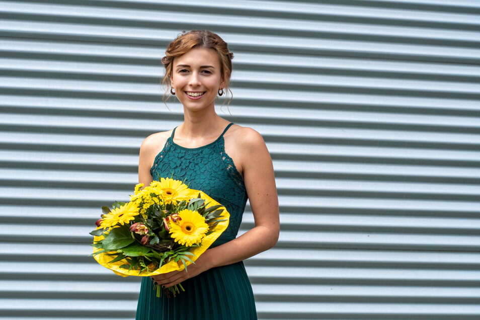 Frances Sähmisch (22) hat nach der Fachhochschulreife am BSZ Döbeln Sozialassistentin gelernt und nun die Erzieherausbildung mit 1,1 beendet. Sie betreut die Kinder in einer Mittweidaer Kita.