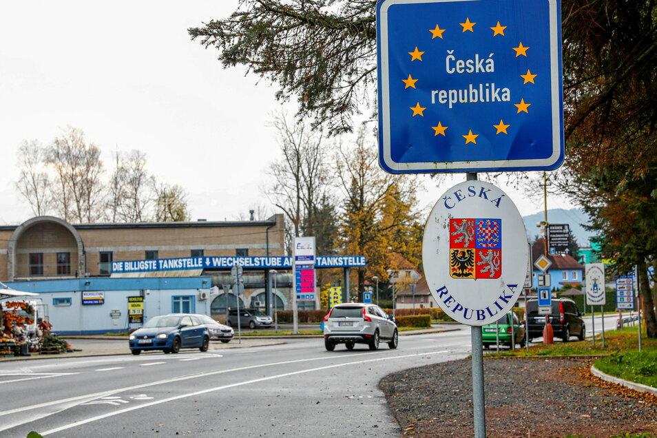 Wird der Grenzübergang nach Tschechien wie hier in Seifhennersdorf komplett geschlossen?