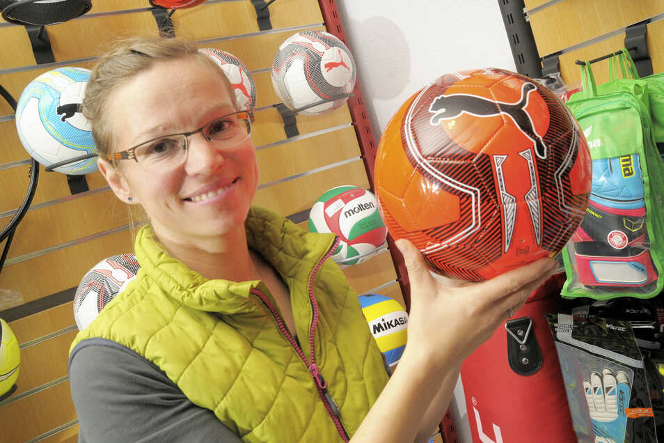 Die Großenhainerin Monique Ruscher-Mohn konnte sich beim Cup des Sportfachhandels gegen 700 Teilnehmer durchsetzen.