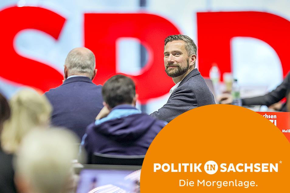 Es war Martin Duligs letzter Landesparteitag als Vorsitzender der Sachsen-SPD. In Zukunft setzt die Partei auf eine Doppelspitze.
