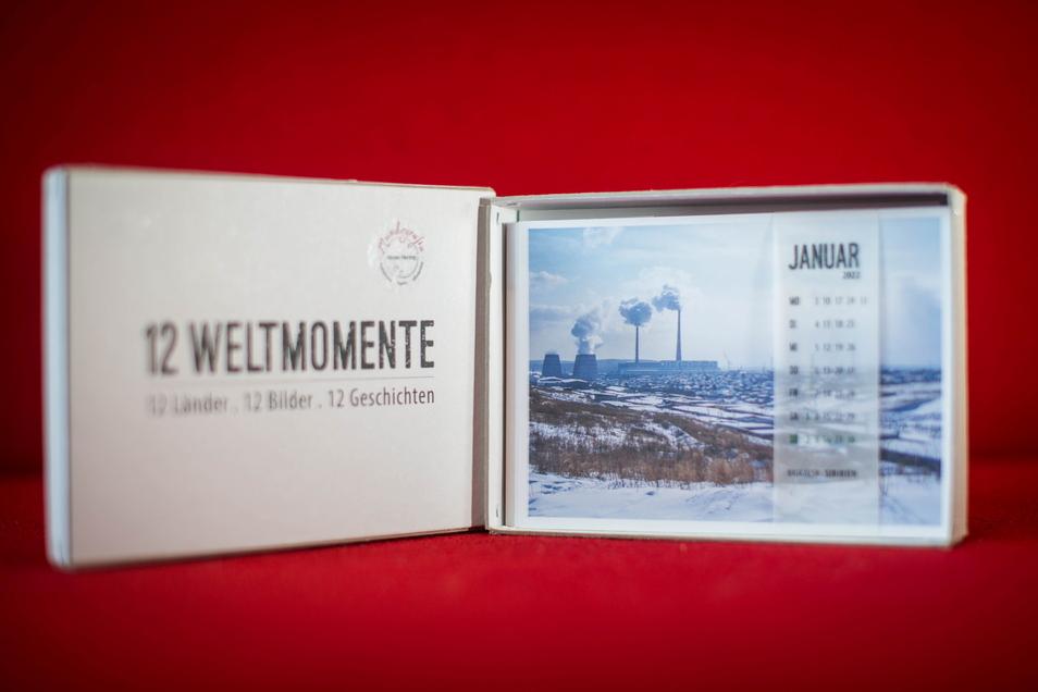 """Der neue """"12-Weltmomente""""-Kalender für 2022."""