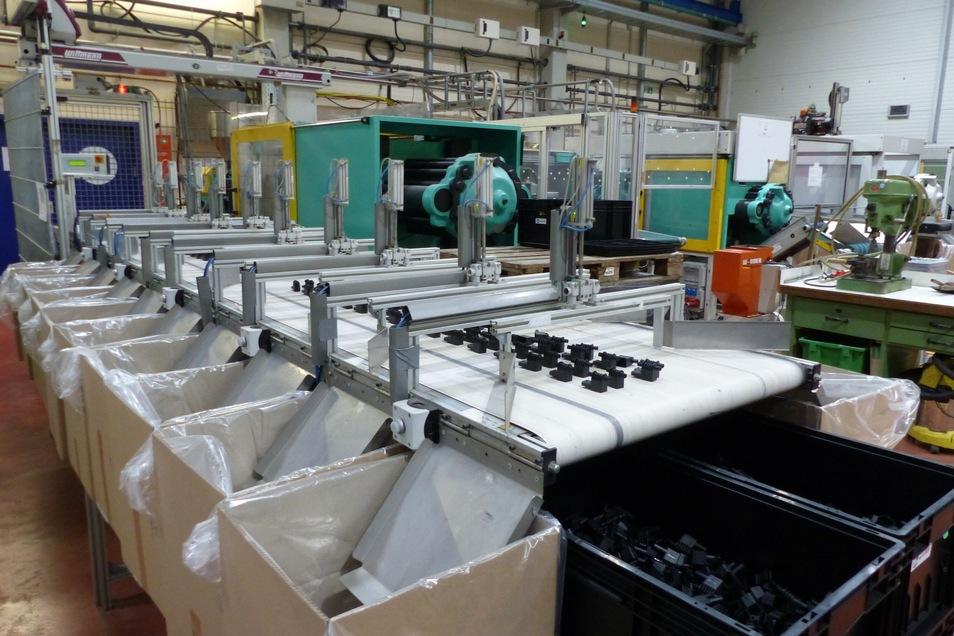 Blick in die Produktionshalle.