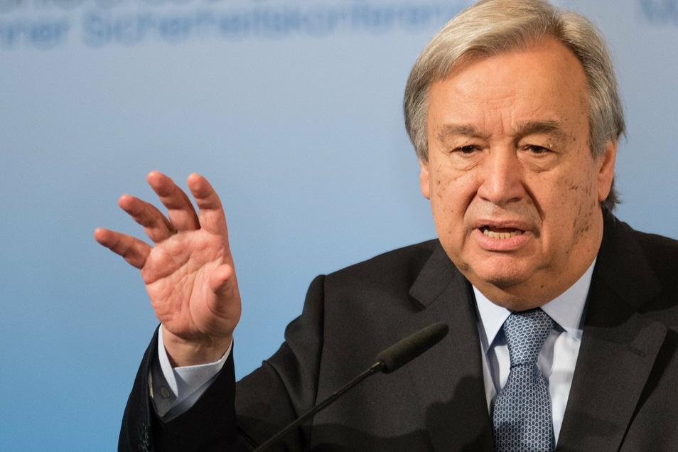 UN-Generalsekretär Antonio Guterres