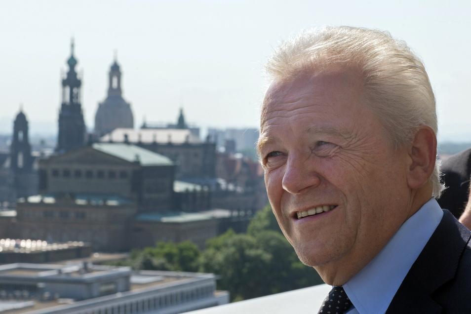 Rüdiger Grube fühlt sich Dresdens seit Jahren verbunden - nun als einer der großen Förderer der Semperoper.