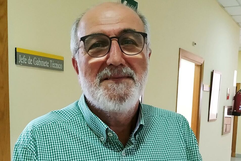 Juan Hernández vom Regierungspräsidium in Ceuta ist zuständig für die Grenze.