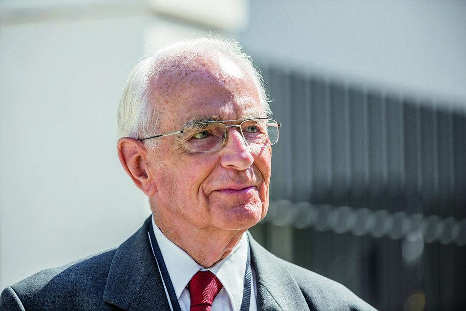 Walter Lange blieb seiner Heimatstadt bis zu seinem Tod 2017 eng verbunden.
