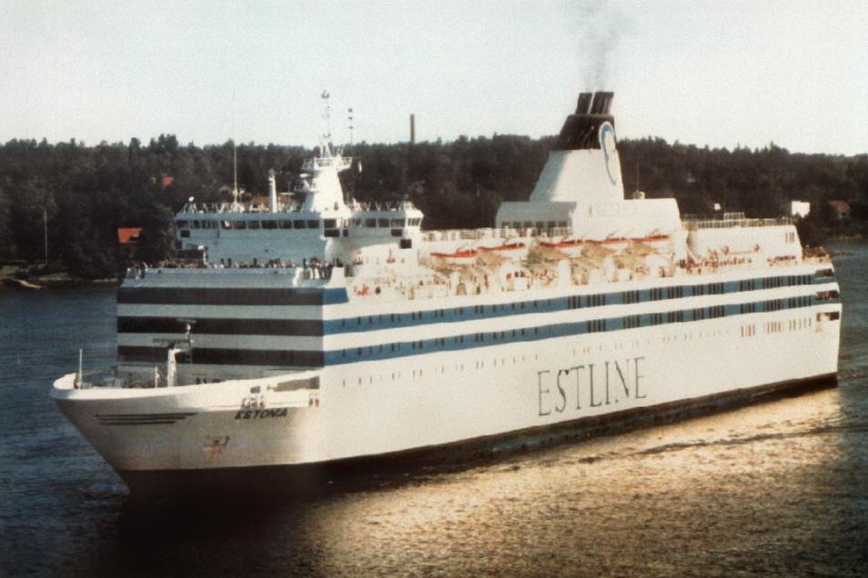 """Die Fähre """"Estonia"""" war in der Nacht zum 28. September 1994 mit 989 Menschen an Bord auf ihrem Weg von Tallinn nach Stockholm vor der finnischen Südküste gesunken."""