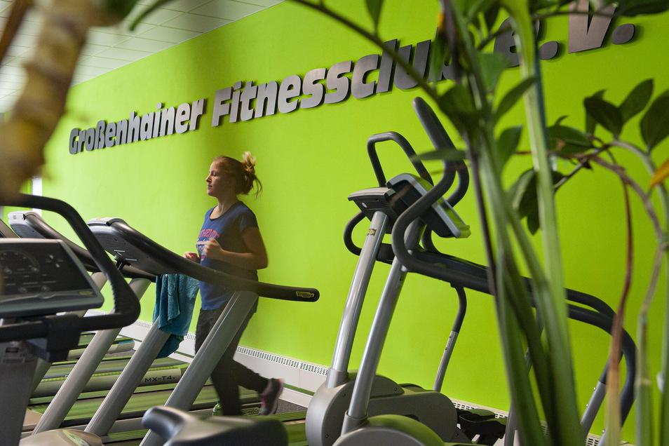 Mitte Mai 2020 konnte der Großenhainer Fitnessclub e.V. KAB, hier Christina Richter, fürs Training modernisiert wieder öffnen. Derzeit ist aber wegen des Lockdown geschlossen.