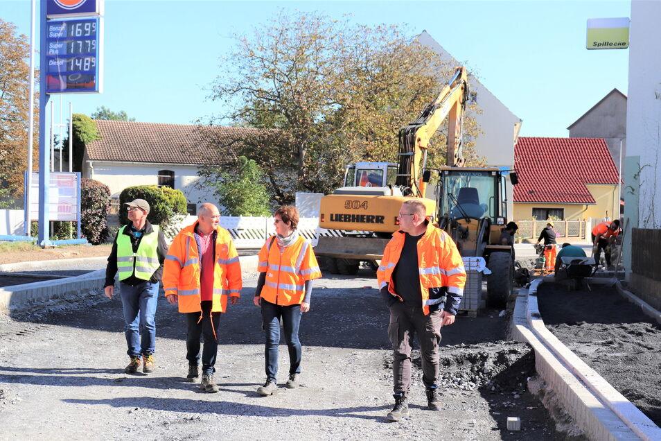 Mit der Riesaer Baufirma TS Bau sind die Verantwortlichen sehr zufrieden.