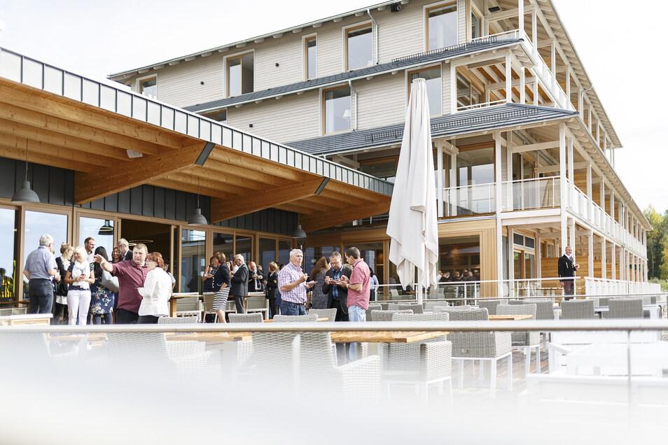 """Das Hotel """"Insel der Sinne"""" bei seiner Eröffnung vor zwei Jahren."""