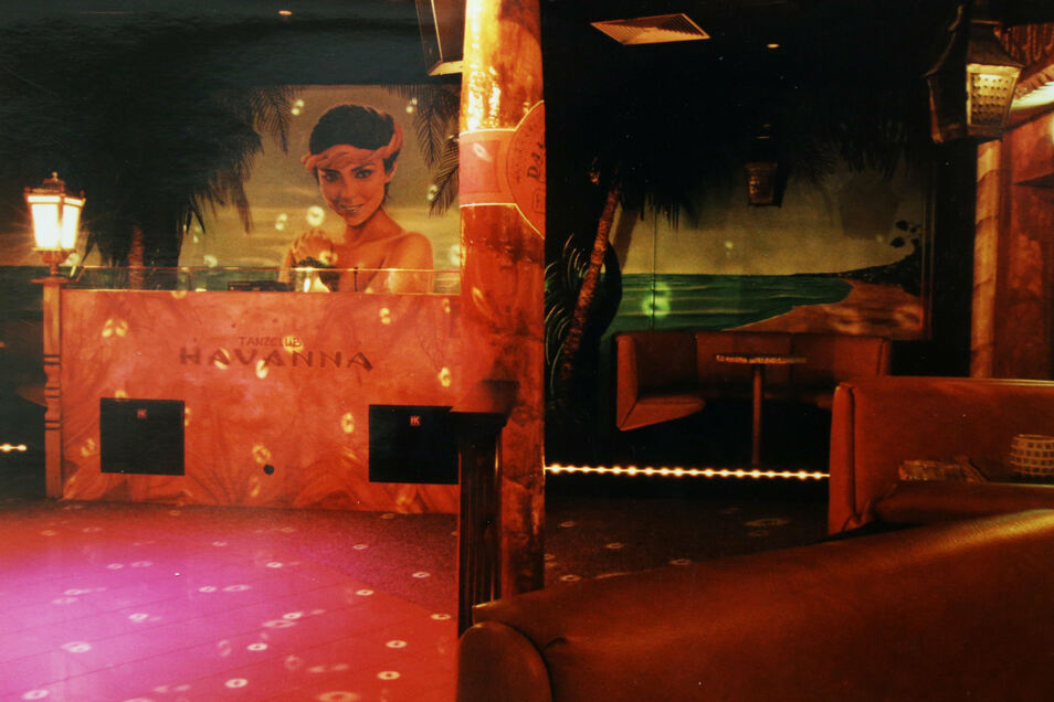 Eine Tanzfläche von vier: Die Disko Prince bot einst für mehr als 1.500 Gäste Platz.