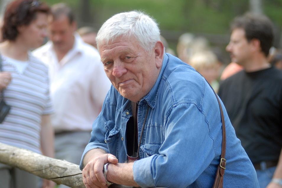 Der Schauspieler und Regisseur Harald Warmbrunn sorgte dafür, dass die Oybiner Ritterspiele das Publikum begeisterten.
