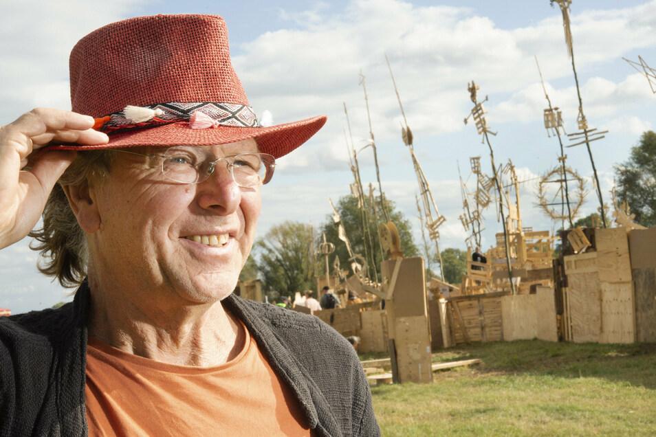 Reinhard Zabka kann sein Labyrinth in diesem Jahr nicht aufbauen.