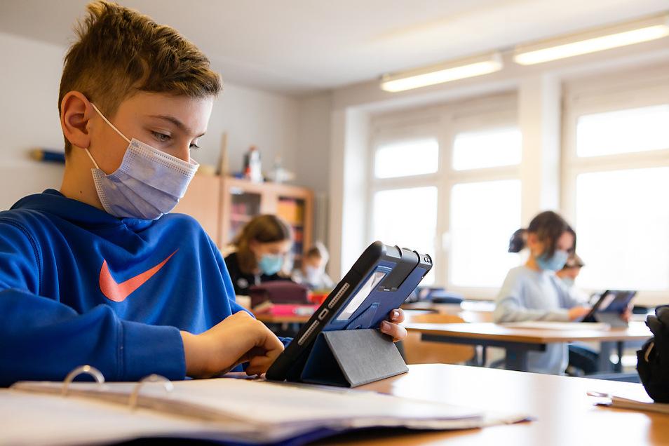 Es braucht nur eine halbe Stunde, um per Online-Diagnose zu erfahren, welchen Leistungsstand die Schüler in den Kernfächern haben.