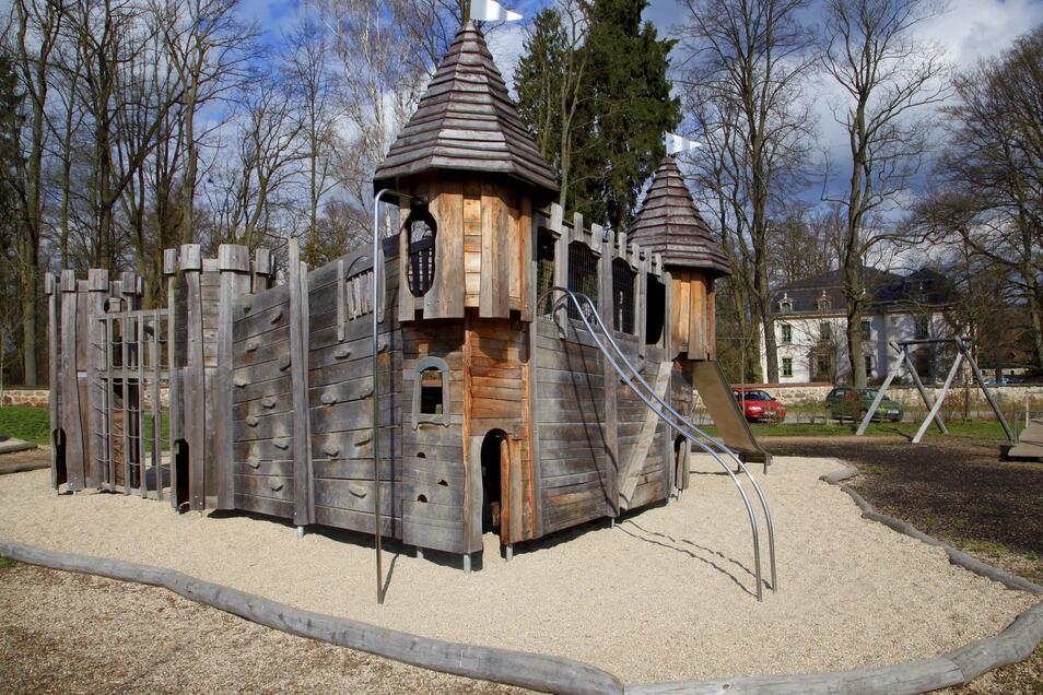 Unter anderem der Wanderrastplatz mit Spielfläche in Friedersdorf soll noch weiter ausgebaut werden.