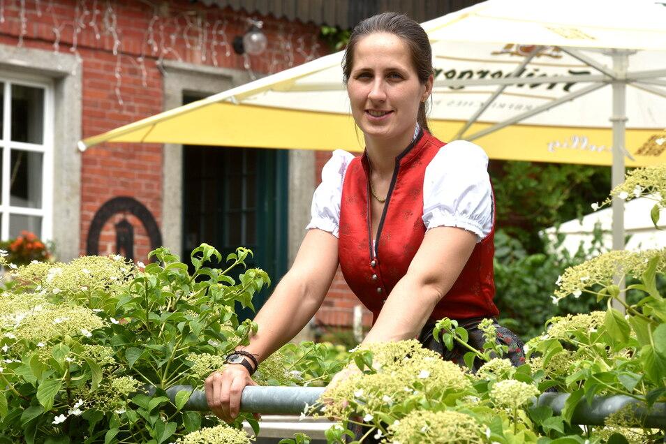 Anna Starke betreibt die Bergwirtschaft auf dem Bieleboh. Seither hat sie viel investiert - auch in neue Ideen.