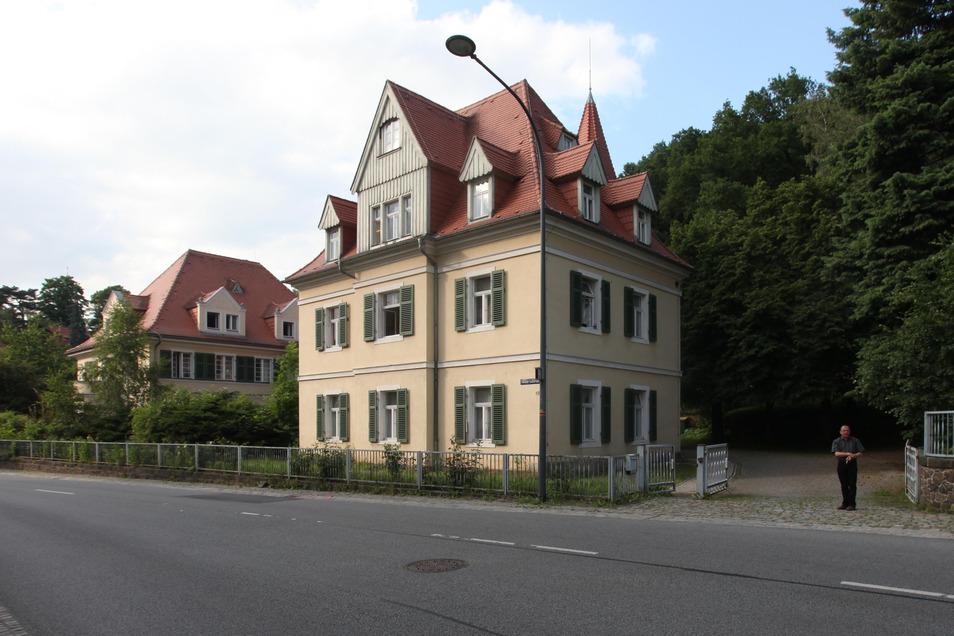 Blick auf das Gustavheim in Niederpoyritz