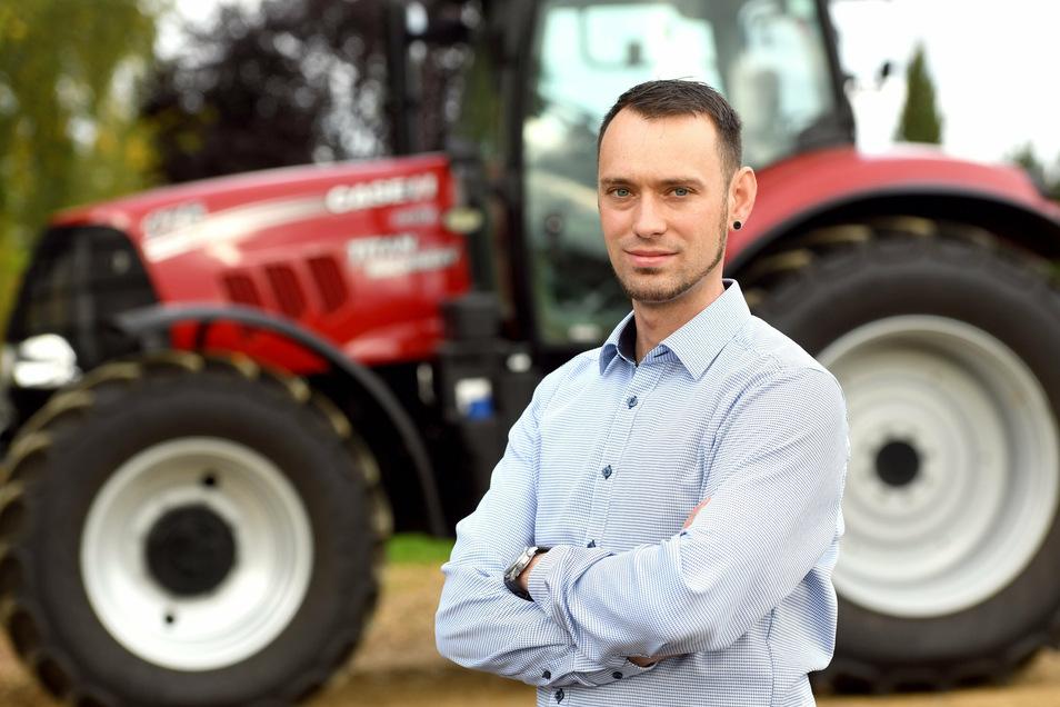 Eric Krems ist seit Oktober Geschäftsführer des Bauernverbands Oberlausitz.