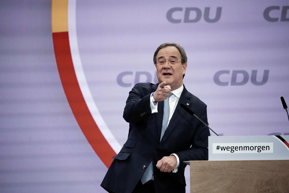Armin Laschet, Ministerpräident von Nordrhein-Westfalen, ist seit dem vergangenen Wochenende der neue Chef der CDU.
