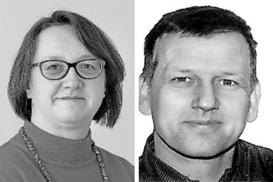 Martina Höllerl oder René Venus – wer wird neues Gemeindeoberhaupt von Lampertswalde?