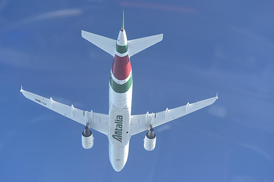 Das wars: Mit dem letzten Flug geht die Alitalia außer Betrieb.