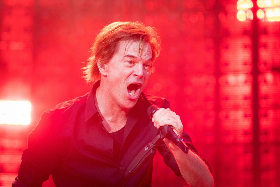 Campino beim Konzert in Dresden, fürs neue Album sang er eine Rammstein-Nummer.