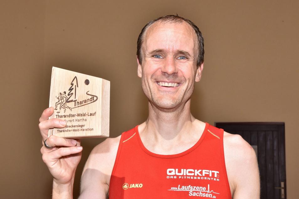 Rannte mit durchschnittlich 13,5 km/h zum Marathon-Sieg: Ulrich Trodler.
