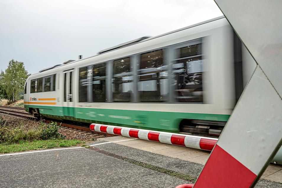 Behinderungen gibt es derzeit im Bahnverkehr zwischen Bautzen und Dresden.