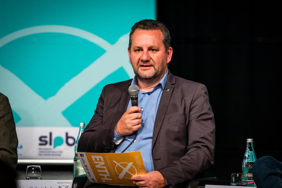Matthias Schniebel ist FDP-Kreisrat und will seine Region nun auch im Bundestag vertreten.